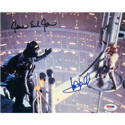 """Mark Hamill  James Earl Jones Signed """"Star Wars"""" 8x10 Photo (PSA LOA)"""