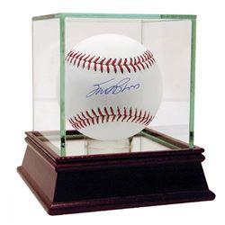 Scott Brosius Signed OML Baseball with High Quality Display Case (Steiner COA  MLB Hologram)
