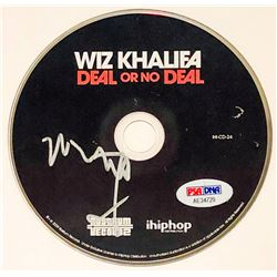"Wiz Khalifa Signed ""Deal Or No Deal"" CD Disc (PSA COA)"