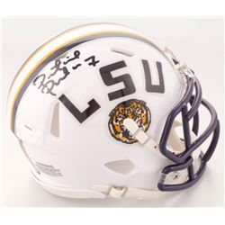 Patrick Peterson Signed LSU Tigers Speed Mini Helmet (Radtke COA)