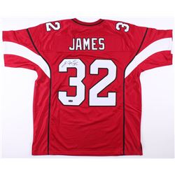 Edgerrin James Signed Arizona Cardinals Jersey (Radtke COA)