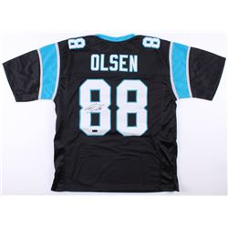 Greg Olsen Signed Carolina Panthers Jersey (Radtke COA)