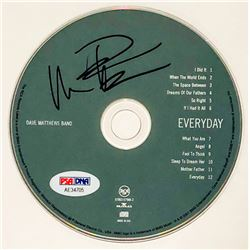 "Dave Matthews Signed ""Everyday"" CD Disc (PSA COA)"