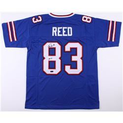 "Andre Reed Signed Buffalo Bills Jersey Inscribed ""HOF 14"" (Radtke COA)"