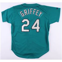 Ken Griffey Jr. Signed Seattle Mariners Russell Jersey (PSA COA)