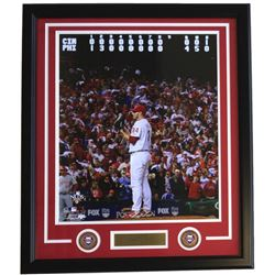 Roy Halladay Framed Philadelphia Phillies 22x27 Custom Framed Photo with Laser Engraved Signature