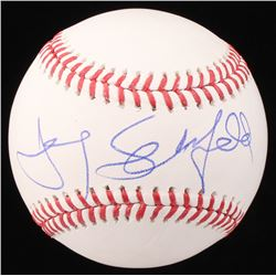 Jerry Seinfeld Signed OML Baseball (Beckett COA)