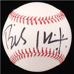 Billy Idol Signed OML Baseball (Beckett COA)
