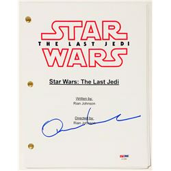 "Oscar Isaac Signed ""Star Wars: The Last Jedi"" Full Movie Script (PSA COA)"