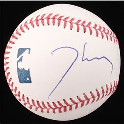 Thomas Jane Signed OML Baseball (Beckett COA)