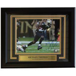 Michael Thomas Signe New Orleans Saints 11x14 Custom Framed Photo Display (JSA COA)