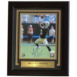 Michael Thomas Signed New Orleans Saints 11x14 Custom Framed Photo Display (JSA COA)