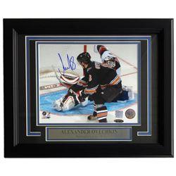 Alexander Ovechkin Signed Washington Capitals 11x14 Custom Framed Photo Display (TriStar  Ovechkin H