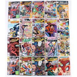 "Lot of (20) 1985-1991 ""Web Of Spider-Man"" Marvel Comic Books"