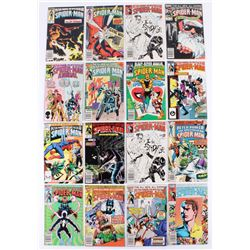 """Lot of (16) 1979-1987 """"The Spectacular Spider-Man"""" Marvel Comic Books"""