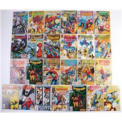 "Lot of (25) 1984-1995 ""Spider-Man"" Marvel Comic Books"
