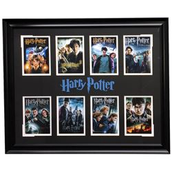 """""""Harry Potter"""" 25x31 Custom Frame Movie Covers Collage Display"""