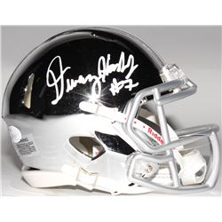 Dwayne Haskins Signed Ohio State Buckeyes Chrome Speed Mini Helmet (JSA COA)