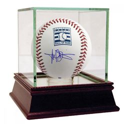 Harold Baines Signed Hall of Fame Logo Baseball with High Quality Display Case (Steiner COA)