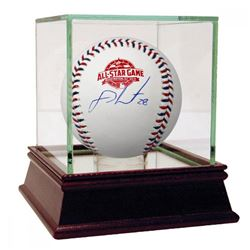J. D. Martinez Signed 2018 All-Star Game Logo Baseball with High Quality Display Case (Steiner COA)