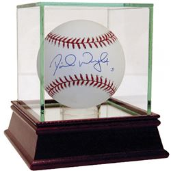David Wright Signed Baseball with High Quality Display Case (Steiner COA  MLB Hologram)