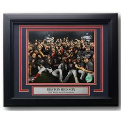 Boston Red Sox 2018 World Series Champions 11x14 Custom Framed Photo