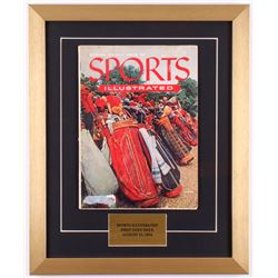 Original Second Issue Sports Illustrated 15.5x19 Custom Framed Magazine