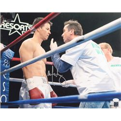 "Mark Wahlberg Signed ""The Fighter"" 16x20 Photo (JSA COA)"