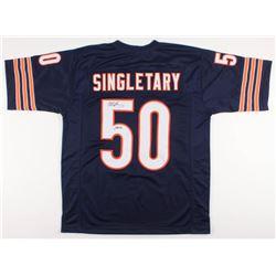 "Mike Singletary Signed Chicago Bears Jersey Inscribed ""HOF 98"" (JSA Hologram)"