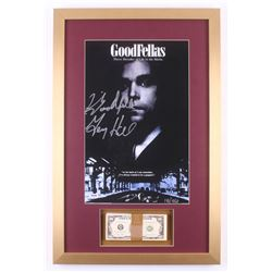 """Henry Hill Signed LE """"Goodfellas"""" 17x26 Custom Framed Photo Display with Movie Replica Prop Money In"""