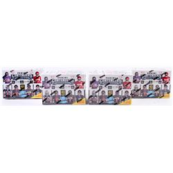 Lot of (4) 2017 Panini Contenders Football Boxes with (40) Cards