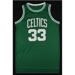 Larry Bird Signed Boston Celtics Jersey (JSA COA  Bird Hologram)