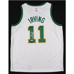 Kyrie Irving Signed Boston Celtics City Edition Nike Jersey (Panini COA  Fanatics Hologram)