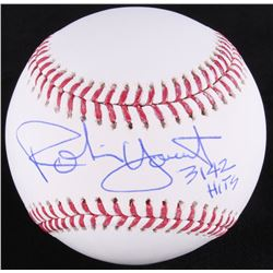 "Robin Yount Signed OML Baseball Inscribed ""3142 Hits"" (JSA COA)"
