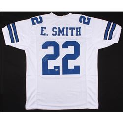 Emmitt Smith Signed Dallas Cowboys Jersey (Beckett COA)