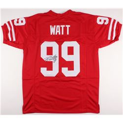 J. J. Watt Signed Wisconsin Badgers Jersey (JSA COA)