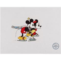 "Walt Disney's LE ""On Ice"" 11x14 Animation Serigraph Cel"
