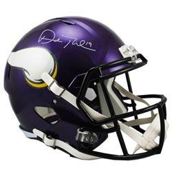 Adam Thielen Signed Minnesota Vikings Full-Size Speed Helmet (Fanatics Hologram)
