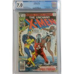 "1979 ""The Uncanny X-Men"" Issue #124 Marvel Comic Book (CGC 7.0)"