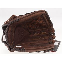"Pete Rose Signed Rawlings Baseball Glove Inscribed ""17x All Star"", ""3x W.S. Champ""  ""4256 Hits"" (JSA"