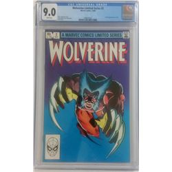 "1982 ""Wolverine"" Issue #2 Marvel Comic Book (CGC 9.0)"