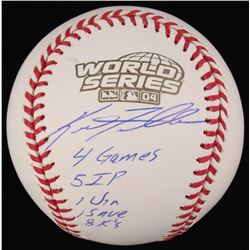 Keith Foulke Signed 2004 World Series Baseball With (5) Inscriptions (JSA COA)