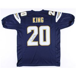 Desmond King Signed Los Angeles Chargers Jersey (JSA COA)