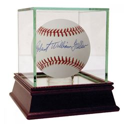 Robert William Feller Signed OAL Baseball (JSA Hologram  PSA)
