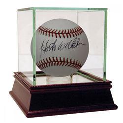 Hoyt Wilhelm Signed Hall of Fame Logo Baseball (JSA Hologram)