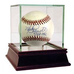 """Mike Schmidt Signed ONL Baseball Inscribed """"548 HR"""" (JSA Hologram)"""