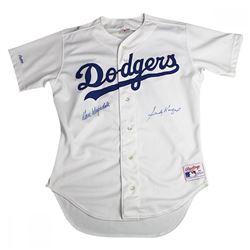 Sandy Koufax  Don Drysdale Signed Dodgers Jersey (Beckett COA)