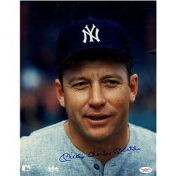 Mickey Charles Mantle Signed Yankees 11x14 Photo (JSA Hologram)