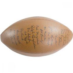 1953 Notre Dame Fighting Irish Football Team-Signed by (35) with John Lattner, Art Hunter, Robert Ta