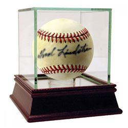 Fred Lindstrom Signed ONL Baseball (JSA Hologram)